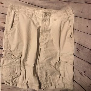 Urban Pipeline men's cargo shorts tan 33